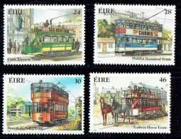 1987  Historical Trolleys  MNH ** - 1949-... République D'Irlande