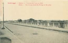 ZEEBRUGGE - Ruines - L'Avenue Du Pont Au Môle - Zeebrugge