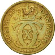 Danemark, Christian X, Krone, 1925, Copenhagen, TB, Aluminum-Bronze, KM:824.1 - Denmark