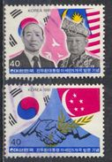 °°° SOUTH KOREA COREA - Y&T N°1131/32 - 1981 °°° - Corea Del Sud