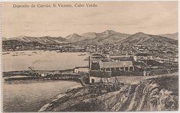 Postal Cabo Verde - Cape Verde - Ilha De S. Vicente - Deposito De Carvão - Carte Postale - Postcard - Cape Verde