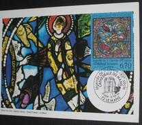 Carte Maximum  1er Jour 12/02/1994  N°2859  CATHEDRALE DU MANS - Cartes-Maximum