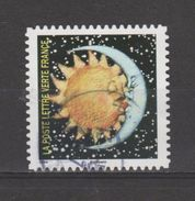 """FRANCE / 2016 / Y&T N° AA 1326 : """"Correspondances Planétaires"""" (Soleil & Lune S'embrassant) - Choisi - Cachet Rond - Frankreich"""