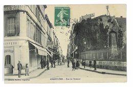 CPA 16 ANGOULEME RUE DE L'ARSENAL - Angouleme