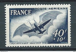 FRANCE 1948 . Poste Aérienne N° 23 Neuf ** (MNH) - 1927-1959 Neufs