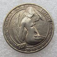 Hobo Nickel Style Buffalo 1937 Sexy Lady Fanasty Token - Etats-Unis