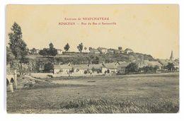 CPA 88 ROUCEUX RUE DU BAS ET SANSONVILLE - France