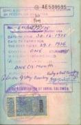 INDIA  VISA  STAMPS ON PASSPORT PAGE - Zonder Classificatie
