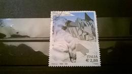 FRANCOBOLLO STAMPS ITALIA 2006 CON ANNULLO MARMO DI CARRARA MADE IN ITALY - 6. 1946-.. Republik