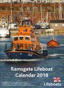 Calendar - Ramsgate Lifeboat 2018 - Schiffe
