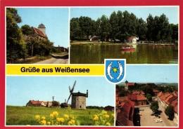 Weißensee, Mehrbild-AK, Ca. 70er Jahre, - Weissensee