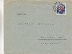Lituanie - Lettre De 1930 ° - Oblit Klaipeda - Exp Vers Weimar En Allemagne - Lithuania