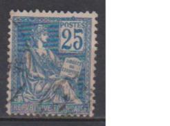FRANCE      N° YVERT  :    118   ( 14 )     OBLITERE - 1900-02 Mouchon