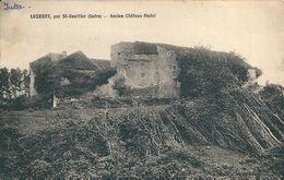 36  LUZERET  Par ST Gaultier ,  ANCIEN CHATEAU  FEODAL - France