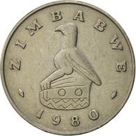 Zimbabwe, 20 Cents, 1980, TTB, Copper-nickel, KM:4 - Zimbabwe