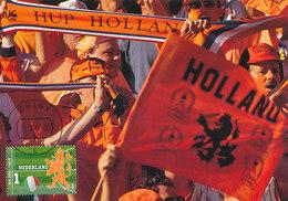 D30955 CARTE MAXIMUM CARD FD 2014 NETHERLANDS - DUTCH LION - ORANGE FANS DUTCH SOCCER TEAM CP ORIGINAL - Famous Clubs