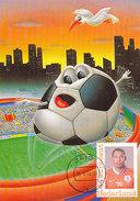 D30957 CARTE MAXIMUM CARD RR 2014 NETHERLANDS - HEDEWIGES MADURO SOCCER WORLD CHAMPIONSHIP BRASIL CP ORIGINAL - World Cup