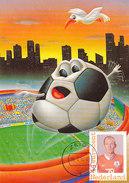 D30958 CARTE MAXIMUM CARD RR 2014 NETHERLANDS - ARJEN ROBBEN SOCCER WORLD CHAMPIONSHIP BRASIL CP ORIGINAL - World Cup