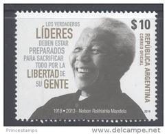 Argentina (2014) - Set -  /  Nelson Mandela - Nobel - Nobelprijs