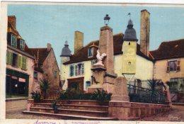 V11406 Cpa 23 Auzances -  Le Monument - Auzances