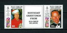 Islas Salomón  Nº Yvert  716/7  En Nuevo - Islas Salomón (1978-...)