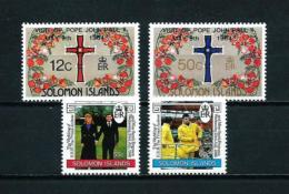 Islas Salomón  Nº Yvert  508/9-552/3  En Nuevo - Islas Salomón (1978-...)