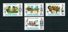 Islas Salomón  Nº Yvert  359/62  En Nuevo - Islas Salomón (1978-...)