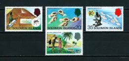 Islas Salomón  Nº Yvert  332/5  En Nuevo - Islas Salomón (1978-...)