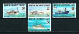 Islas Salomón  Nº Yvert  266/9  En Nuevo - Islas Salomón (1978-...)