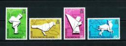 Islas Salomón  Nº Yvert  253/6  En Nuevo - Islas Salomón (1978-...)