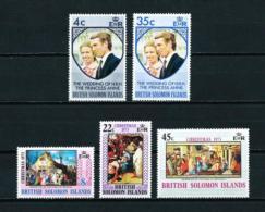 Islas Salomón  Nº Yvert  240/1-242/4  En Nuevo - Islas Salomón (1978-...)