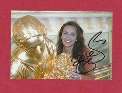 Süße Geraldine Olivier  -  Persönlich Signiertes 18x13 Cm - Photo - Autographes