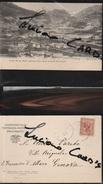 13207) LA THUILE SALUTI DA STRADA AL PICCOLO S. BERNARDO VIAGGIATA 1903 - Italia