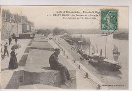 CPA-35-Ille Et Vilaine- SAINT-MALO- Les Remparts Et La Porte De B...... - Saint Malo