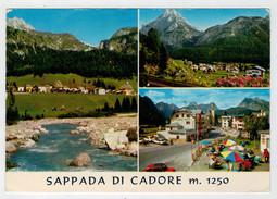 SAPPADA  DI  CADORE  (BL)    VEDUTE        (VIAGGIATA) - Italia