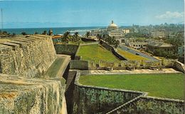 ¤¤  -  PUERTO-RICO  -  View From Fort SAN CRISTOBAL - The Capitol    -  ¤¤ - Puerto Rico