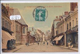 SAINT-QUENTIN-- LES COMMERCES DE LA RUE SAINT-MARTIN- RUE DE L HOTEL-DIEU- COLORISEE - Saint Quentin