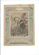 L'ÉCOLIER ILLUSTRÉ L'arbre Anthropophage  Protège-cahier Couverture 220 X 170 Mm Etat Bien RR. Imp. C. Lamy Paris - Kids