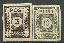 All.Besetzg., Sowj. Zone, Nr. 51/52, Postfrisch - Sowjetische Zone (SBZ)