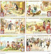 Liebig Serie R2 Ediz. LINGUA ITALIANA S956a) Episodi Della Vita Di Fanciulli Con F-Trinaje Veneziane - SUPERBA - Liebig
