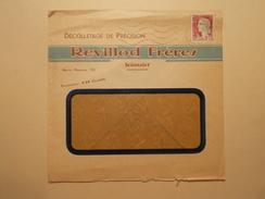 Marcophilie  Cachet Lettre Obliteration Timbre - Entête Professionnelle Scionzier 74 - 1964 (1027) - 1961-....