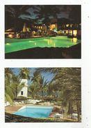Cp , KENYA , MOMBASSA , Serena Beach Hotel  , Vierges ,  LOT DE 2 CARTES POSTALES - Kenya