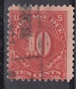 USA 10 C Portomarke 1916 - Gestempelt - Etats-Unis