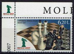 Schach Chess Ajedrez échecs - Moldawien Moldavia Moldova 2007 - MiNr 601 - Chess