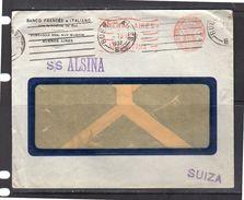 1927 SS ALSINA Buenos Aires To Switzerland (a8) - Argentinien