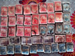 11900 ZEGELS GESTEMPELD IN BOTTEN VAN 100 - Verzamelingen & Reeksen