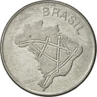 Brésil, 10 Cruzeiros, 1983, TTB+, Stainless Steel, KM:592.1 - Brésil