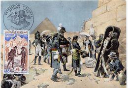 "1972 - Carte Maximum - ""EXPEDITION D'EGYPTE"" - Tp N° 1731 - Cartes-Maximum"