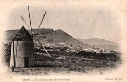 ALGERIE - ORAN - VUE GENERALE PRISE DE SAINT EUGENE - Oran