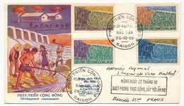 VIET-NAM - FDC - Développement Communautaire - Saigon - 26/10/1959 - Vietnam